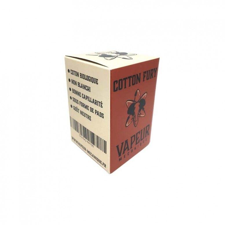 Cotton Fury - 20 pads - Vapeur Mécanique